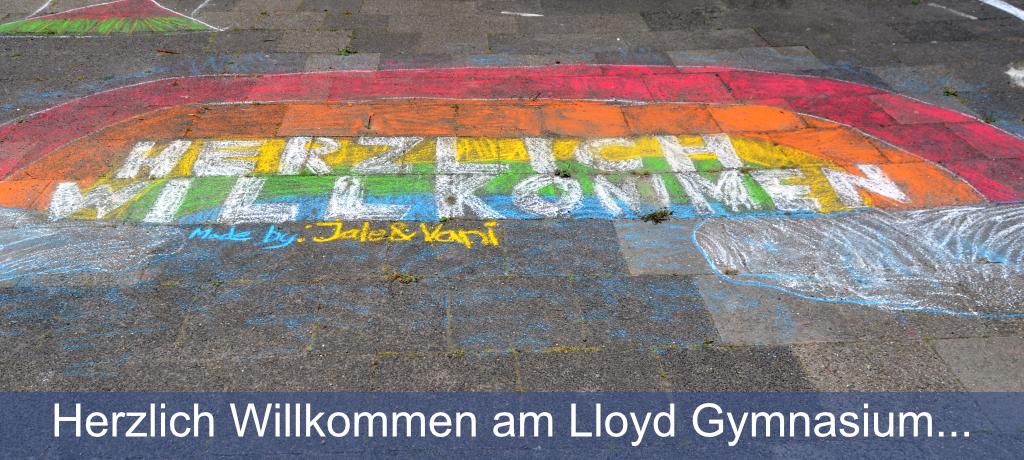 Herzlich Willkommen am Lloyd Gymnasium