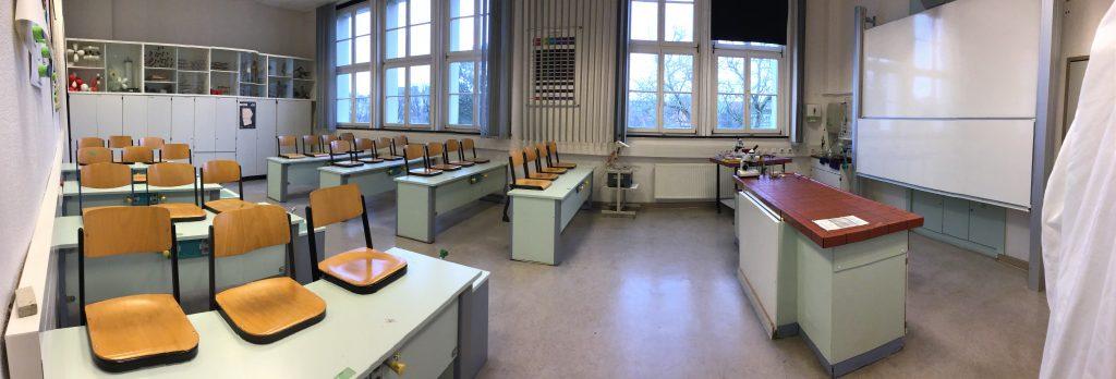 Biologie Unterrichtsraum GyO