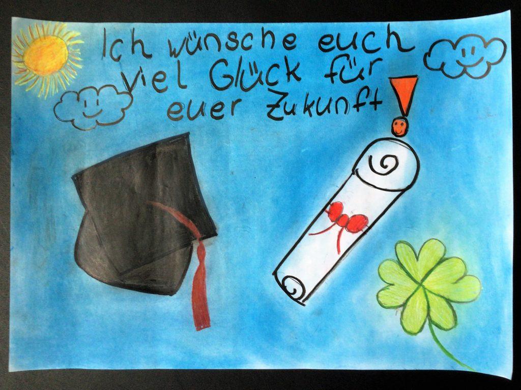Motivationsplakat Abitur 2021